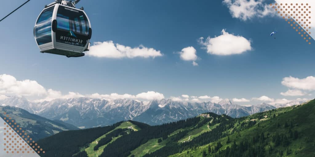 cable car while visiting places in Chandigarh india