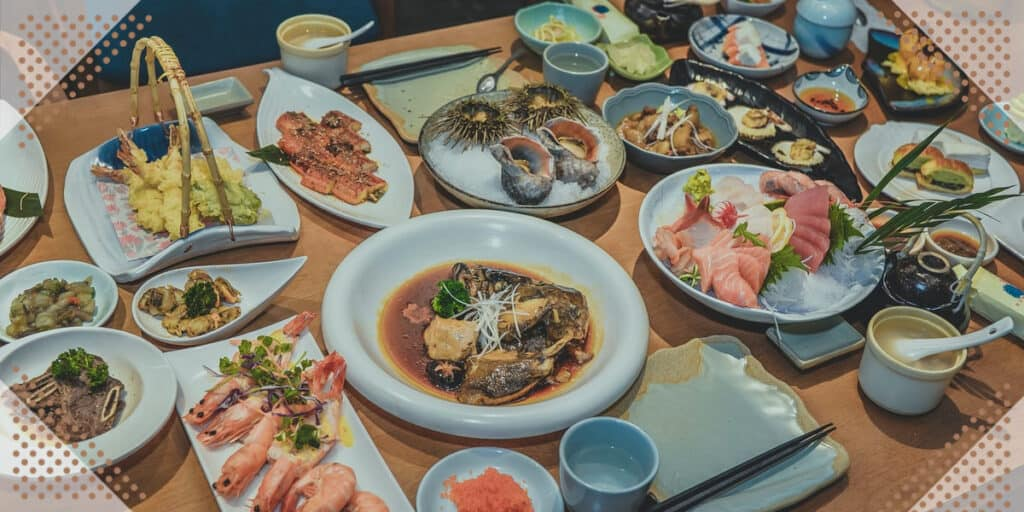 eating food in japan for the first time