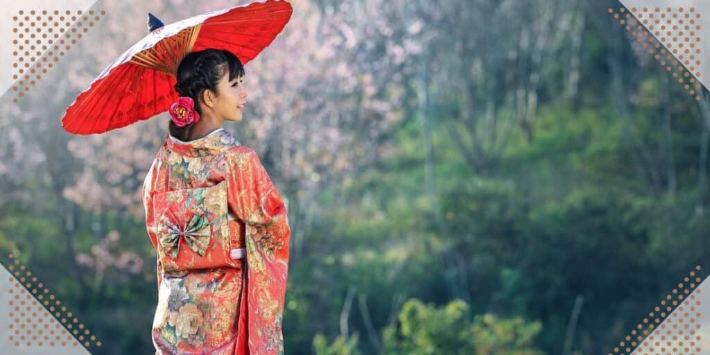 japanese woman in japan