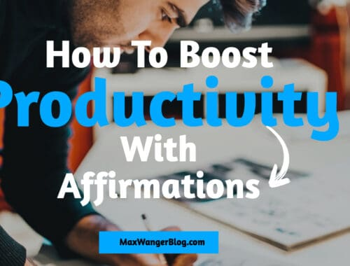 Affirmations For Productivity