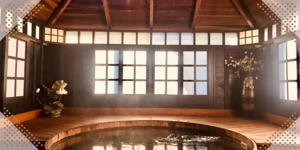 indoor hot spring
