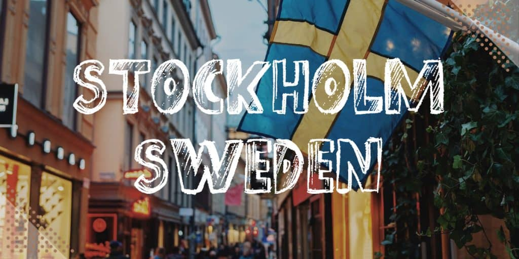 Best Places To Visit In Europe In November: Stockholm Sweden