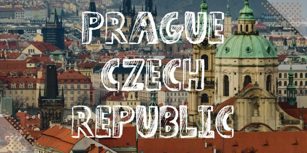Best Places To Visit In Europe In November: Prague Czech Republic