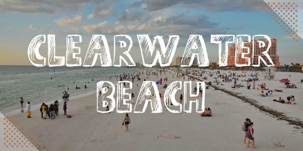 Best Beaches Near Disney World: Clearwater Beach