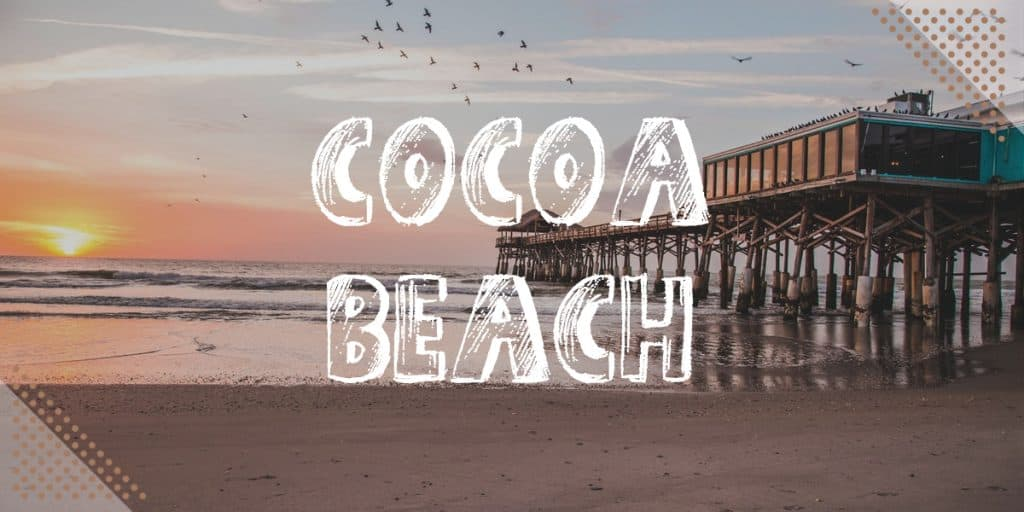 Best Beaches Near Disney World: Cocoa beach